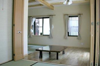 1階 和室~リビング