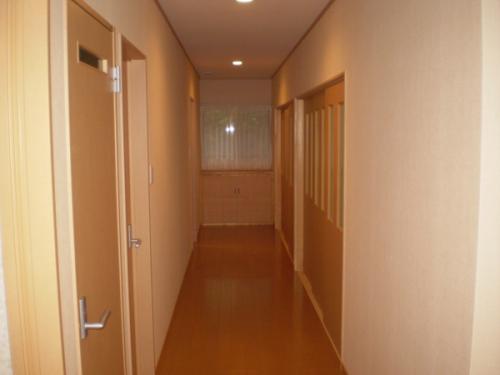各部屋へと導く廊下