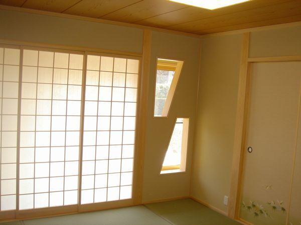 和室のおしゃれな採光